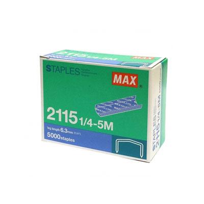 Max Staples 2115 1/4-5M - STAPLESINDO   Stationery Batam ...